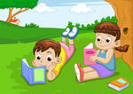boy-and-girl-reading-book_62734669