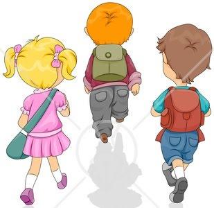 children walking clip art walking away from group 4   GRDELIN BUZET